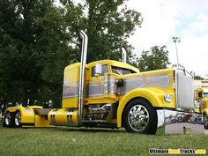 Customized Chromed Out Kenworth
