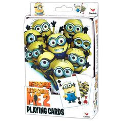 Despicable Me 2Pk Playing Cards: 047754165067 | | Calendars.com