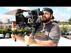 http://www.youtube.com/watch?v=3Ckvs1qyKj0  CineFly Cinema Camera Shoulder Rig