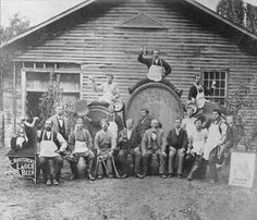 Kusterer's Brewing, Michigan & Ionia - c. 1860