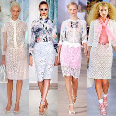 Spring trends: lace