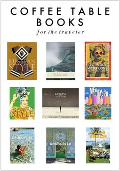 Kelly Market: COFFEE TABLE BOOKS FOR THE TRAVELER
