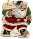 Santa-Claus-carrying-sign-sack-vintage-Christmas-card