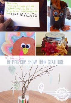 10 Gratitude Activities for Kids - Kids Activities Blog