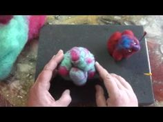 Part 2 Introduction to Soft Sculptural Needle Felting - YouTube