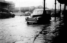 Ascot Vale was affected by a flood of the Maribyrnong River in 1954.