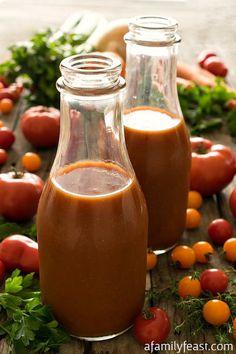 Homemade Tomato Juic