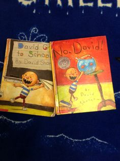 David Shannon Books and activities to go with author study
