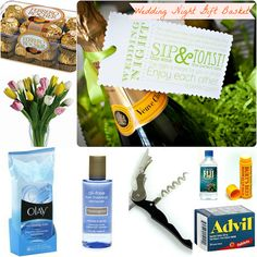 Gifts: The Wedding Night Gift Basket