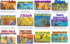 Download Two Free Bible Movies + Free Illustrated Bible Stories