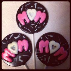 Chocolate Lollipops www.facebook.com/delectablydelicious