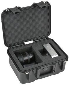 SKB Cases iSeries 1309-6 Blackmagic Camera Case, Black, 14 7/8 x 12 x 7 3/8 3I-13096BKMG
