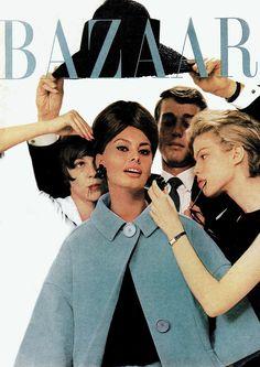 hats, richard avedon, sophia loren, vintag magazin, magazin cover, harper bazaar, 1960s magazin, diva, september
