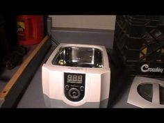 Ultrasonic cleaning brass for reloading and swaging