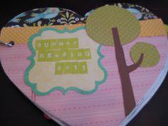 Very Haute Housewife: Summer Reading Mini Album Part 2