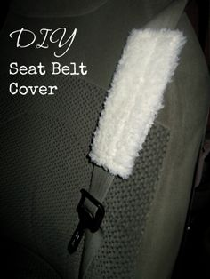 THE REHOMESTEADERS: DIY Seat Belt Cover