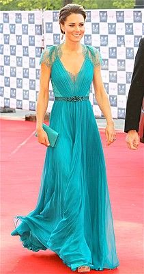 Kate Middleton in Jenny Packman, Spring 2012 Collection