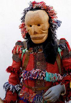 Caretos de Ousilhão (Tras os Montes) Bragança  Portuguese Traditional Carnival Costumes