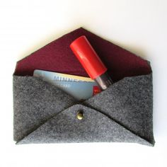 Learn how to make this mini no-sew clutch in under 2 hours. Perfect for keeping all your essentials in one place!