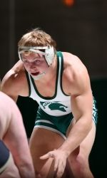The Michigan State wrestling team heads to the NCAA Championships this weekend (March 21-23) in Des Moines, Iowa, at Wells Fargo Arena. Dan Osterman (149 pounds), Ryan Watts (157), John Rizqallah (184) and Michael McClure (HWT) will represent MSU at the NCAA Championships. McClure is the No. 8 seed at heavyweight.