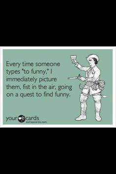 To funny vs too funny lol