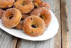 Wild Blueberry Baked Doughnuts from @Ezra Pound Cake (Rebecca Crump)