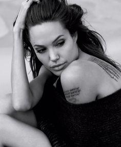 Angelina Jolie #tattoos