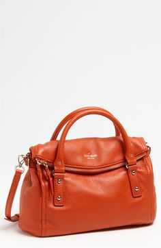 kate spade new york 'cobble hill - leslie small' leather satchel available at #Nordstrom