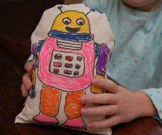 Kid-Made Stuffed Toys