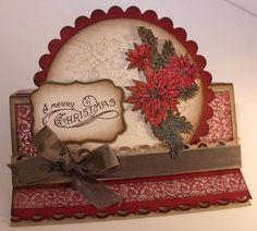 christmas cards, card idea, easel cards, vintage christmas, candies, hobbi, blog, cardspap craft, christma cardstag