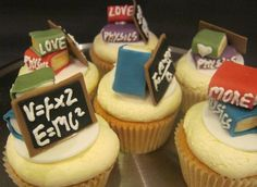 Cupcakes for my teacher
