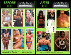 Body by vi challenge  WWW.90dayswithlogan.com