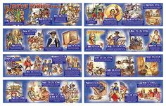 THE AMERICAN REVOLUTION TIME LINE | United States History Bulletin Board Sets - CD-410051