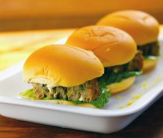 Recipe for turkey, spinach and feta meatloaf sliders