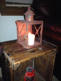 reproduct lantern, lantern holder, vintage metal, hold candl, metal lantern, vintag metal