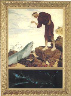 St. Anthony of Padua/Lisbon who lectured fish  ベックリン『魚に説教するパドヴァの聖アントニウス』    ytmusik.web.fc2.com