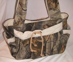 Camo diaper bag ideas