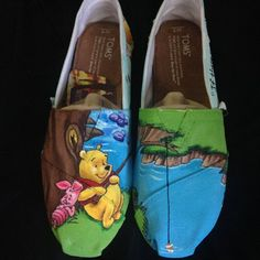 OISELLE TOMS?! OMG! TOMS 'Classic cartoon characters, accessori, tom classic, tom shoes, bears, beauti, winnie the pooh, ray ban sunglasses, disney characters