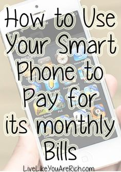 Get your smartphone to pay for itself every month.