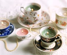 Mother Teacup Candles