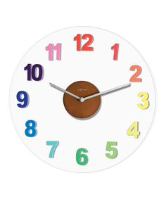 Colorful Richard Wall Clock
