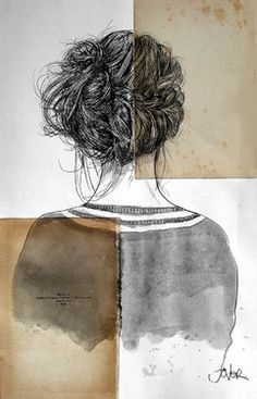 "Saatchi Online Artist Loui Jover; Drawing, ""audrey's sunrise"" #art"
