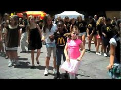 McDonald's Flash Mob Dance in Charlotte, NC