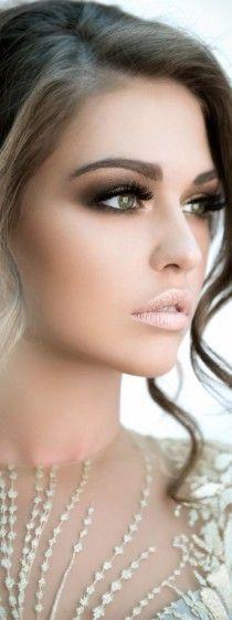 weddingmakeup, eye makeup, dark eyes, bridal makeup, winter makeup