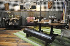 ~ The Painted Home: {Upcycled Dining Room Reveal}