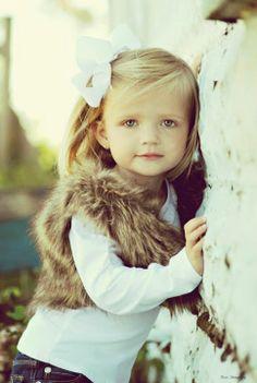 outfit, daughter, future kids, fur vest