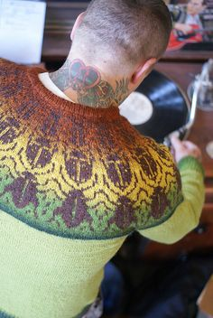 Gregor Sweater from Literary Knits. Inspired by Gregor Samsa from The Metamorphosis. <3