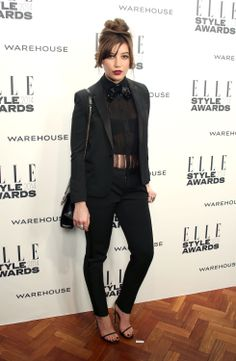 Daisy Lowe attends the ELLE Style Awards