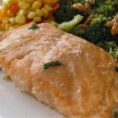 Firecracker Grilled Alaska Salmon Allrecipes.com #SundaySupper # ...