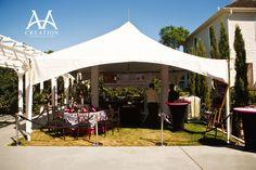 Wedding Rental Company wedding rentals, 2014 celebr, 10 year, celebr venu, anniversari parti, parti idea, year anniversari, rental compani